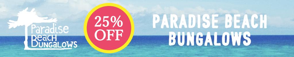 PARADISE BEACH BUNGALOWS SALE